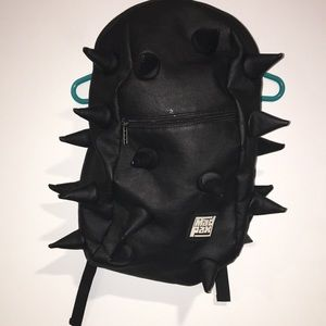 Mad Pax Black spiky backpack